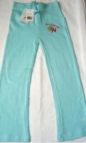 pantalon niña deportivo americana newbalance talla 5