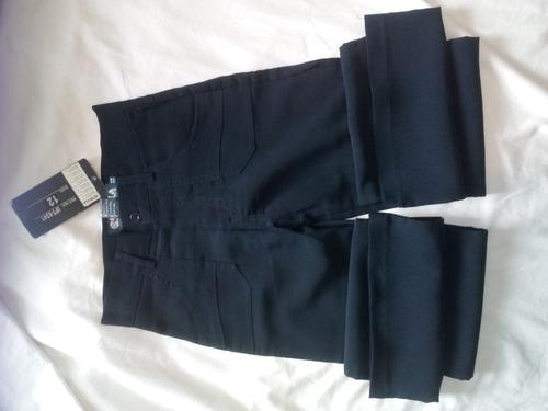 pantalon niña escolar  import  original marca eskola