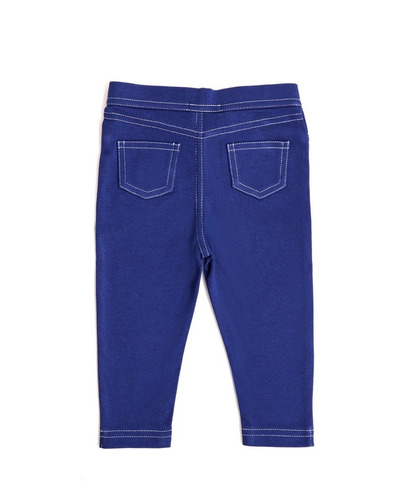 pantalon niña - tipo jean - patriot blue (18-24 meses)