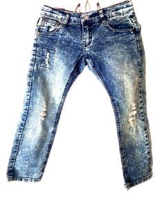 781c700f01 Lote Pantalón Mezclilla Adolescente Niño Jeans 20 Pzs 1era. Nuevo León · Pantalon  Niño Mezclilla Jeans Rockero Biker Bebe Talla 4