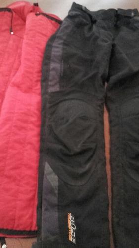 pantalón niño moto desmontable, con refuerzo
