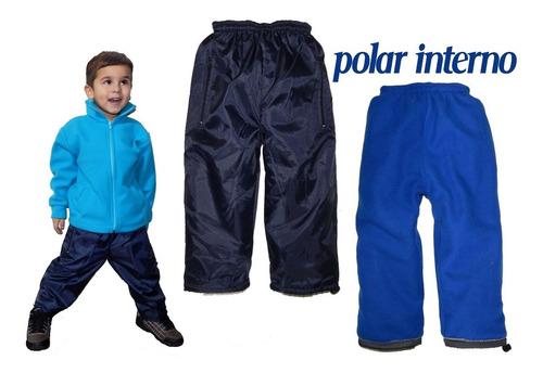 pantalon niños/as impermeable polar nieve lluvia jeans710