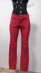 9336b623ce Pantalones Floreados Dama - Pantalones de Mujer Rojo en Mercado ...