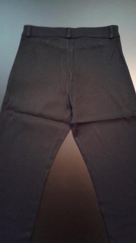pantalón ona saez negro t38 - excelente estado!
