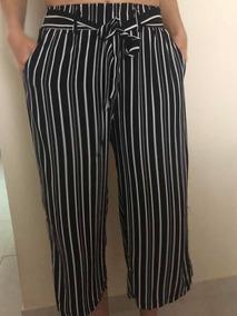 especial para zapato amplia gama super especiales Pantalon Rayado Blanco Y Negro, Pantalones Palazzo Mujer ...