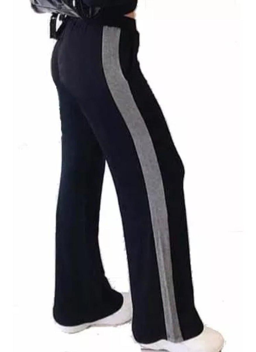Mujeres Y Mujercitas Pantalon Palazzo De Mujer Con Franja De Modal Urbano Oxford 1 350 00