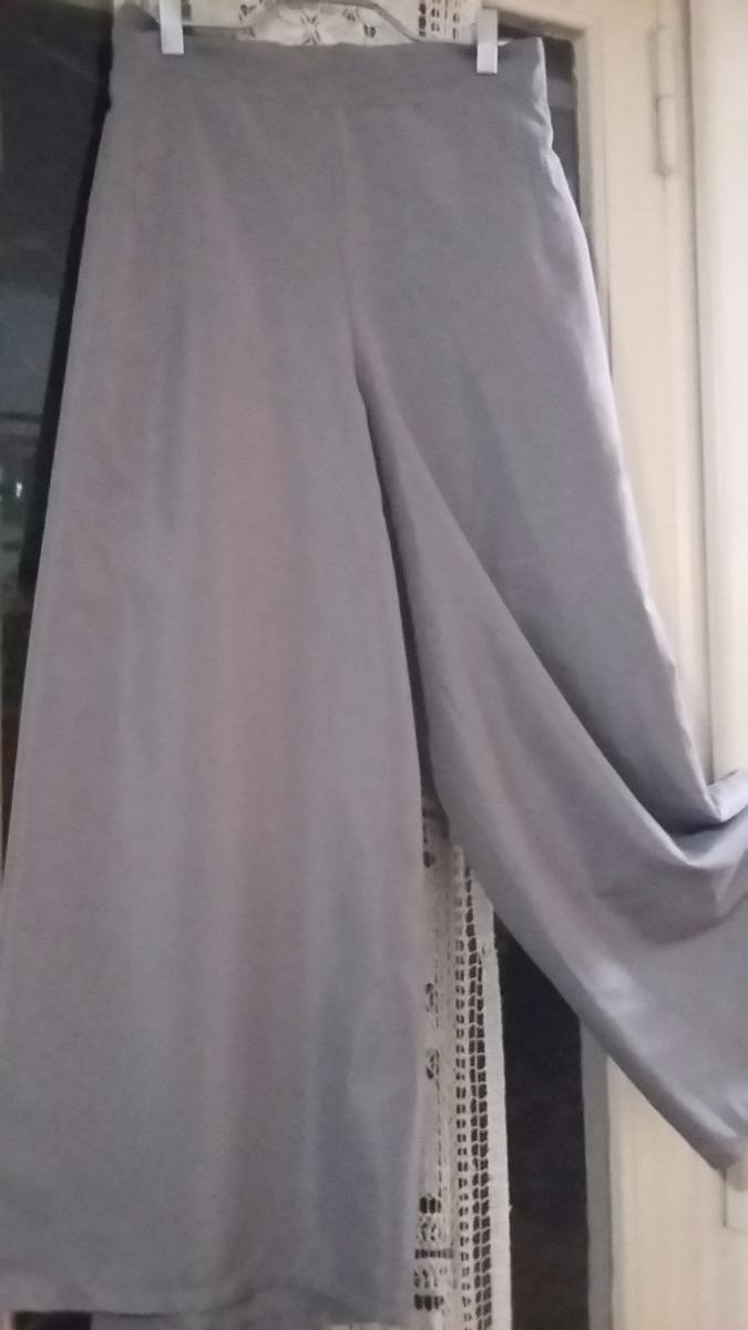 pantalon palazzo gris impecable. Cargando zoom. 228f0e120072