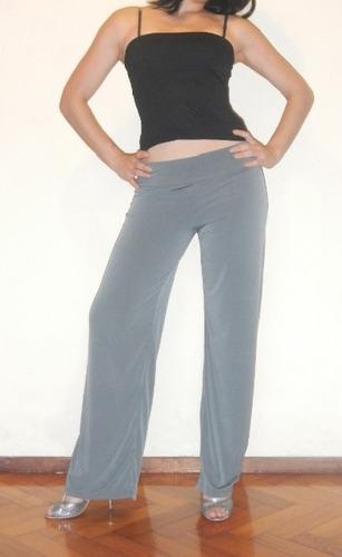 pantalón palazzo seda fría - precio y calidad-talles todos