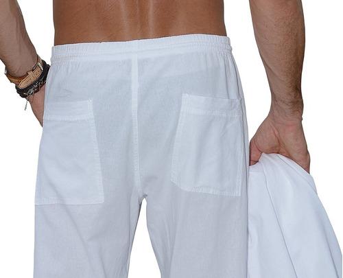 pantalón para caballero 100% algodón - cotton natural