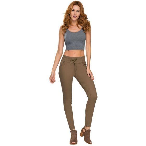 11ac49abaff6 Pantalon Para Dama Ropa Moda Casual Fresa 2018 Envio Gratis