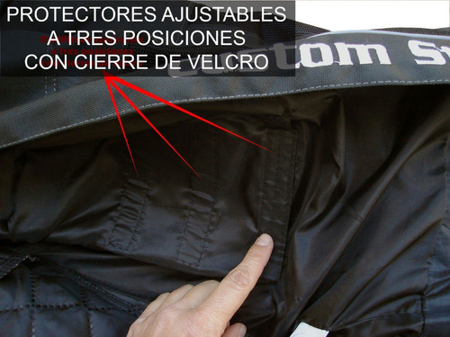 pantalon para motociclista con protecciones