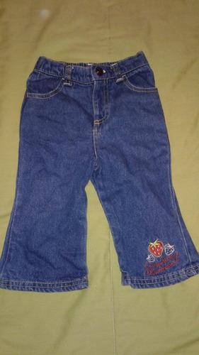 pantalon para niña, talla 12 meses