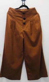 49510f4171 Pantalon Pata Elefante - Pantalones y Jeans de Mujer Marrón en ...