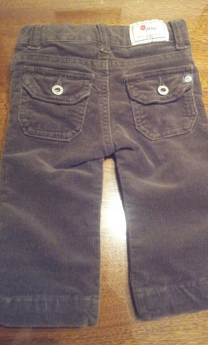pantalon paula cahen d anvers  corderoy talle 6 meses
