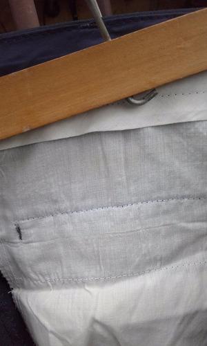 pantalon paulino nuevo para caballero talle 32 color azul