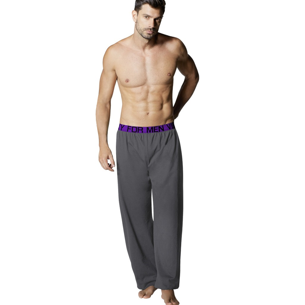 36c24abb95 pantalon pijama hombre algodón basico gris 1562 vicky form. Cargando zoom.