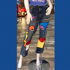 bastante agradable 155f1 434cd Pantalon Pinto Mezclilla - Pantalones y Jeans en Mercado ...