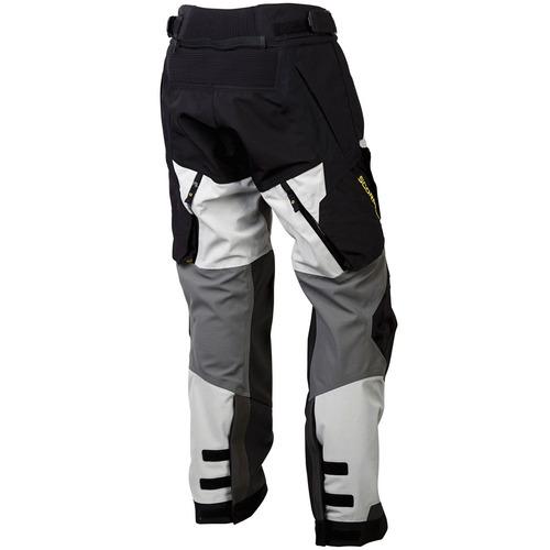 pantalón p/motocicleta scorpion yukon hombre gris/blanco md