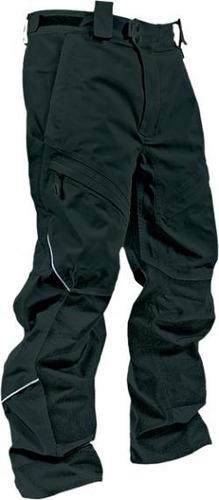 pantalón p/motonieve hmk action 2 p/hombre negro lg tall