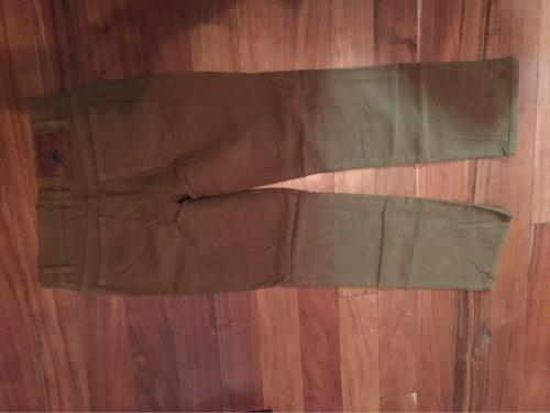 pantalón polo ralph lauren talla 10 de niño de gamuza, pana