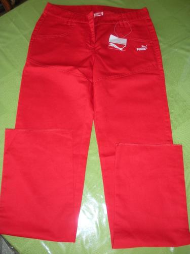 pantalón puma ferrari - tallas: 34, 36