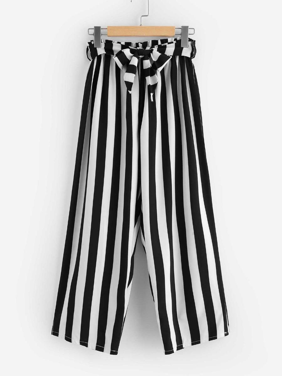 Boutique en ligne 65382 2f778 Pantalon Rayado Rayas Ropa Mujer Jeans Dama Pantalones Dama