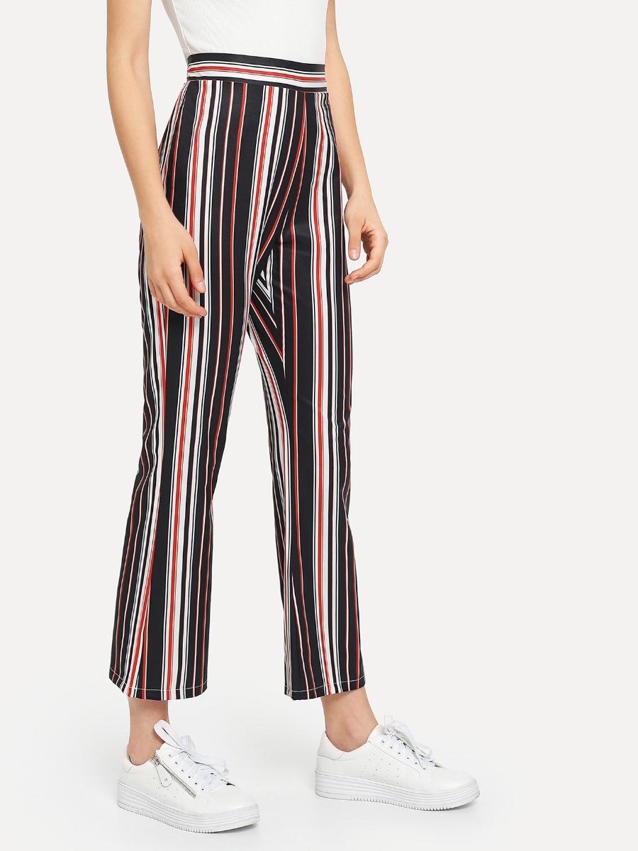 mejor sitio web c3ec4 5ba86 Pantalon Rayas Jeans Dama Pantalones Dama Ropa Mujer