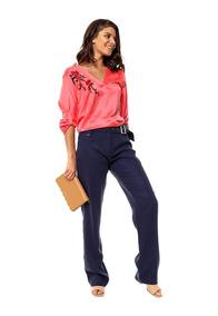 ba2f63a8ad57 Pantalon Vestir Recto Para Mujer - Ropa y Accesorios en Mercado Libre  Argentina