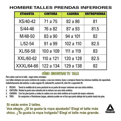pantalon reebok training te marble group hombre azm