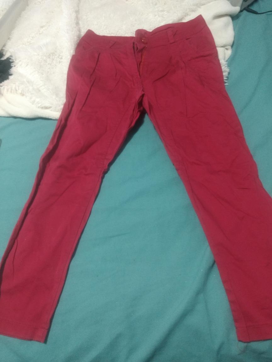 Talle Babucha Mujer300 Ajustado M Rojo Arriba Abajo 00 Pantalon 2W9IDYEH