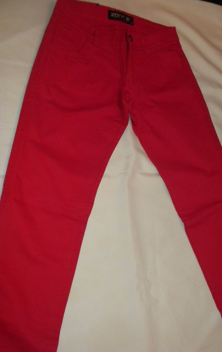 4cba48991 pantalón rojo de gabardina para mujer. Cargando zoom.