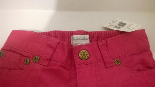 pantalon rosa ralph lauren niñas