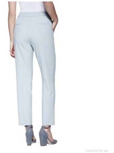 pantalón sastre cacharel s 100% lino envio gratis cuotas!!!
