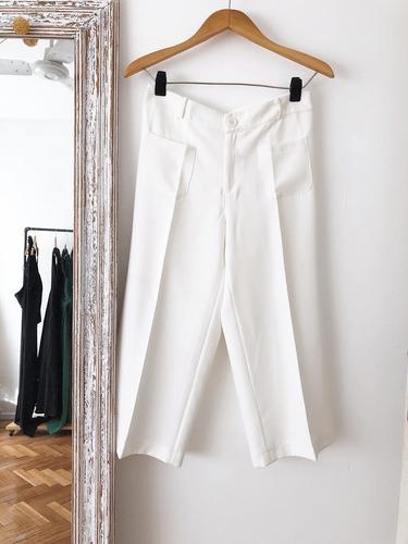 pantalón sastreria mujer crepe