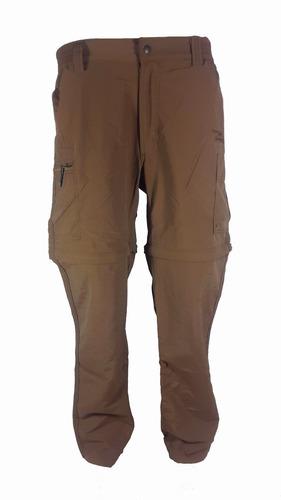 pantalon secado rapido modelo safari ii talla 36 cafe sd13