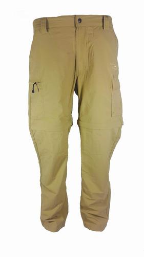 pantalon secado rapido modelo safari ii talla 38 kaky sd16