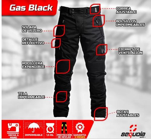 pantalón sequoia speed para motorizado con protección