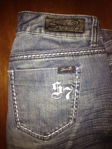 pantalón seven original talla 10
