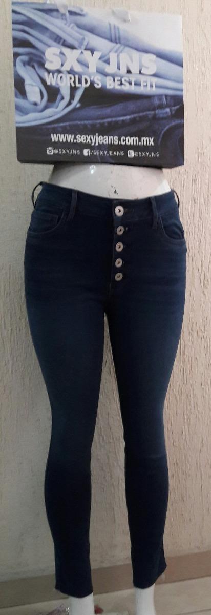 dafded233ad Pantalon Sexy Jeans Skinny Cintura Alta 5 Botones -   400.00 en ...