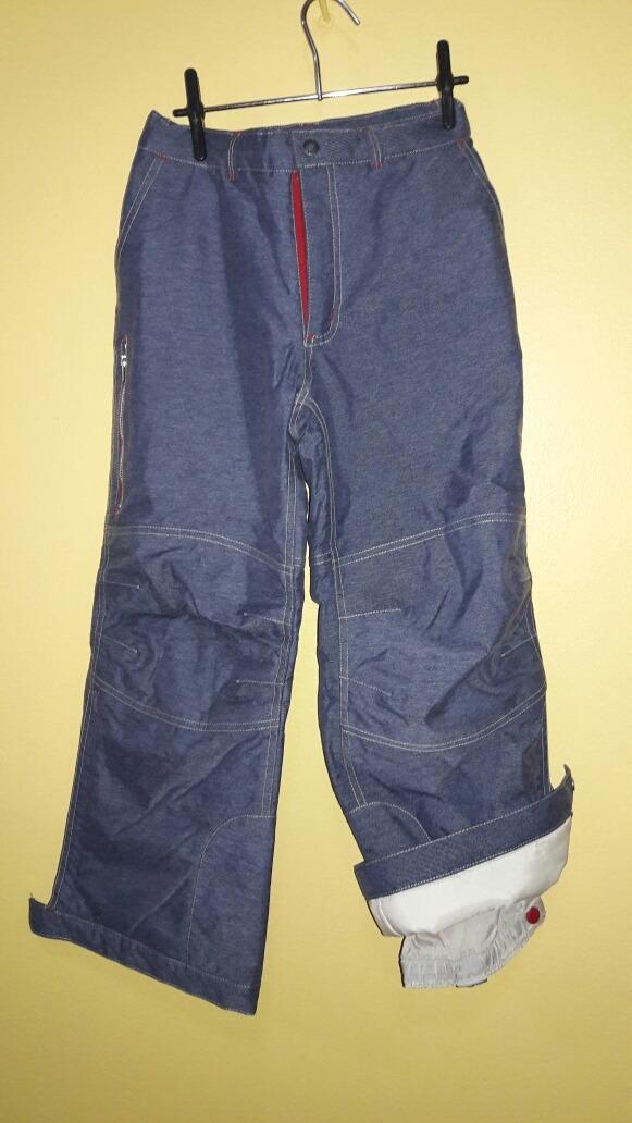 1816cbcfa73 Pantalon Ski Niño Con Trampa De Nieve Talle 8 Importado -   1.600