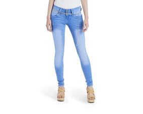 2997f9da Pantalón Skinny Fit Azul Para Mujer Boy London Pr-3120132