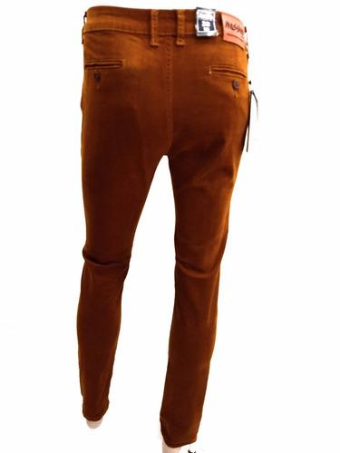 pantalon skinny gabardina strech