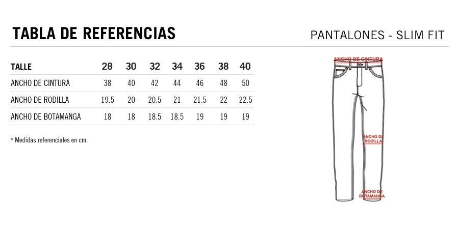 Pantalón Chino 254 Slim Fit Prototype Hombre -   990 cb72bffc142e