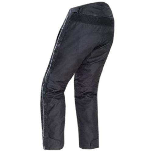 pantalón sobre pantalón tourmaster, tela, negro, 4xl tall