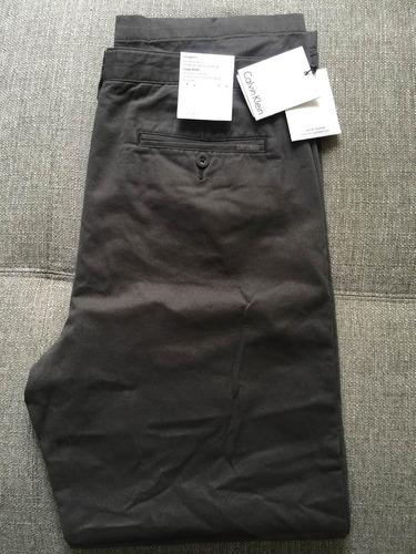 pantalón sport calvin klein fatigue b670 gris osc t.33
