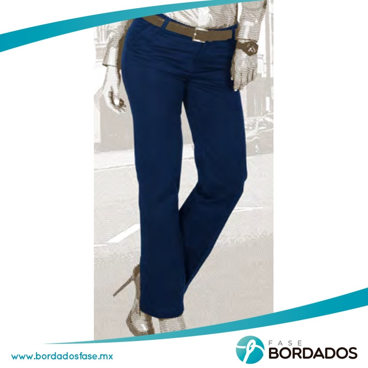 Pantalón Stretch Jeans Dama Gabardina - $ 229.00 en Mercado Libre