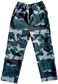 0dd5080a9a6 Pantalon Sudadera Camuflado Militar Varios Estilos