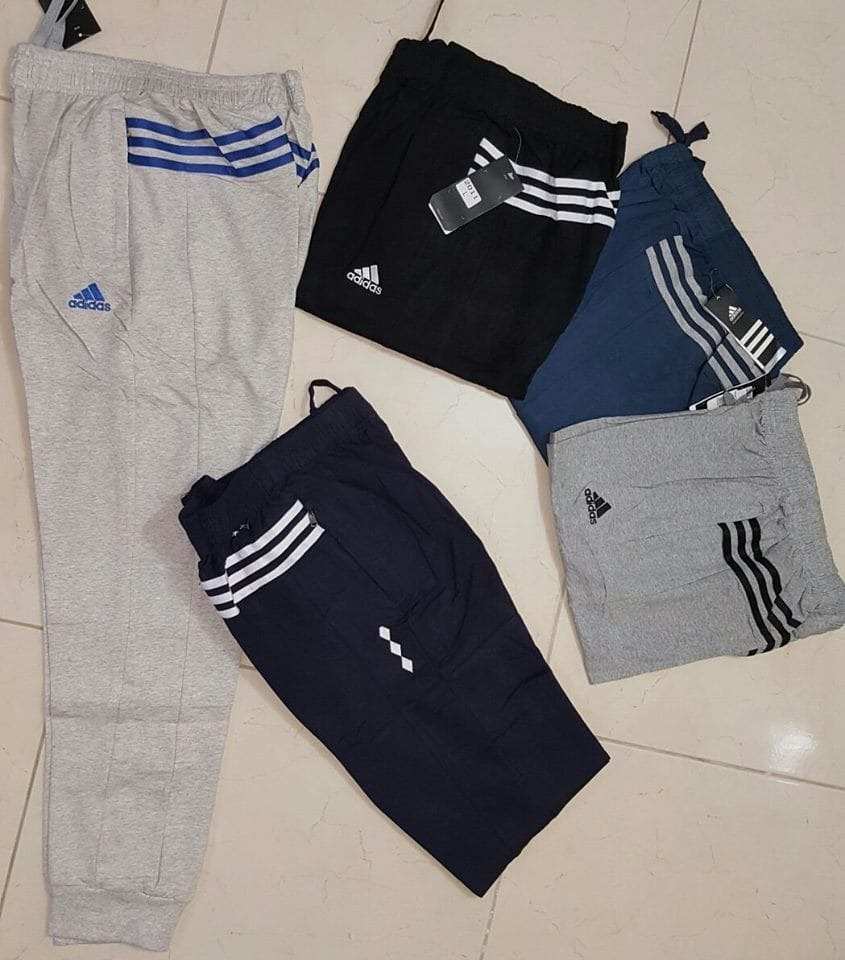04ef25cacbf3 Pantalon Sudadera Jogger adidas Original 3 Lineas