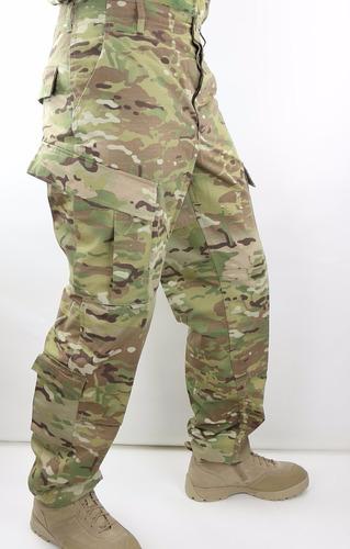 pantalon táctico cargo corte acu camuflado multicam/uca