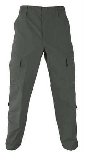 pantalon tactico corte acu americano ripstop verde -ejercito